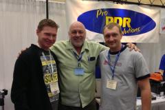 Mit Terry Siegle und Bill Hullet
